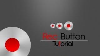 Adobe Photoshop #18 | REC. BUTTON [HD]