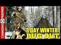 3 Day Winter Camp Out w/ Woodstove Hot Tent