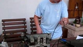 Patrik opravuje Tesla 605A Blaník