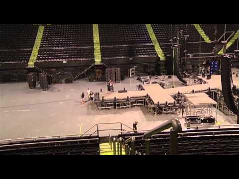Así luce la Arena Monterrey previo al concierto de Miley Cyrus