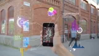 Homogadget: Un celular transparente para evitar accidentes en la calle