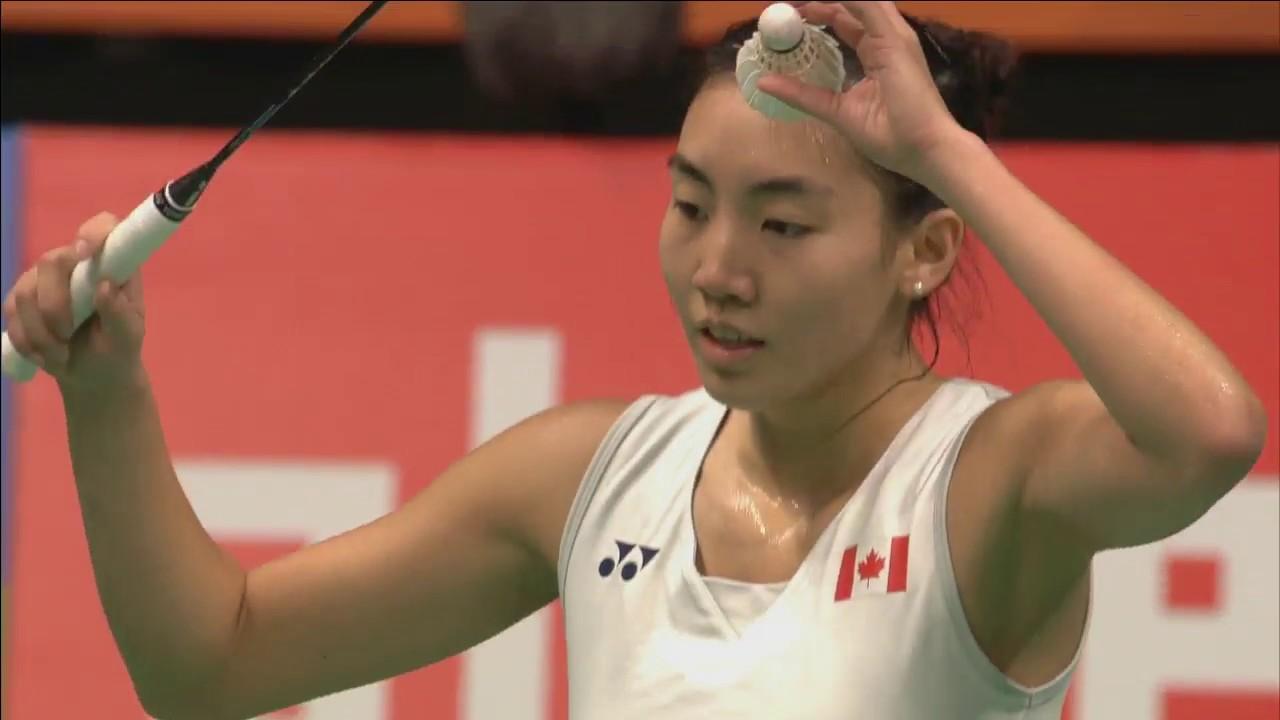 Beiwen Zhang vs Michelle Li WS Final Yonex Dutch Open 2017