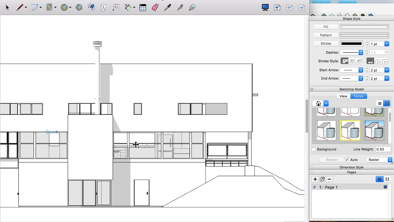 Sketchup to Illustrator (Using Layout)
