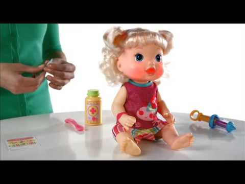 Make Me Better Baby Doll - Baby Alive - Hasbro