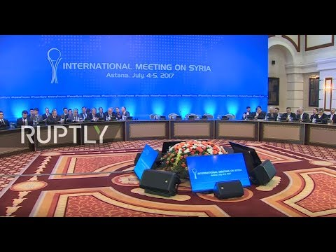 LIVE: New round of Syria talks takes place in Astana