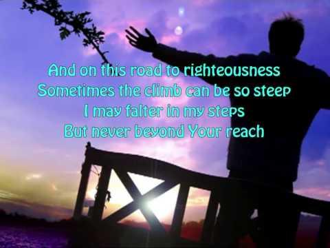 Sometimes By Step ~ Rich Mullins ~ lyric video