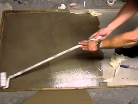 Betonlook Badkamer Maken : Betonlook coating decochip doe het zelf youtube