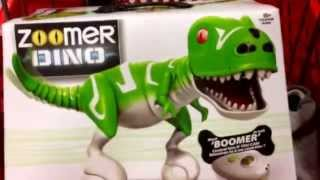 Zoomer Dino Boomer - Electronic R/c Interactive Dinosaur Toy / Toy Review