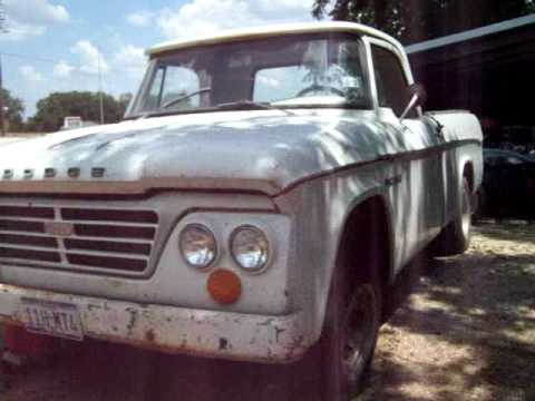 1964 Dodge D -100 with A,C. - YouTube