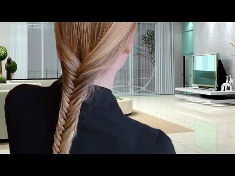 PERFECT FISHTAIL BRAID: How To Do A Fish Tail Braid