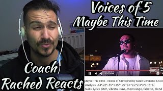 Vocal Coach Reaction + Analysis - Voices of 5 - Maybe This Time