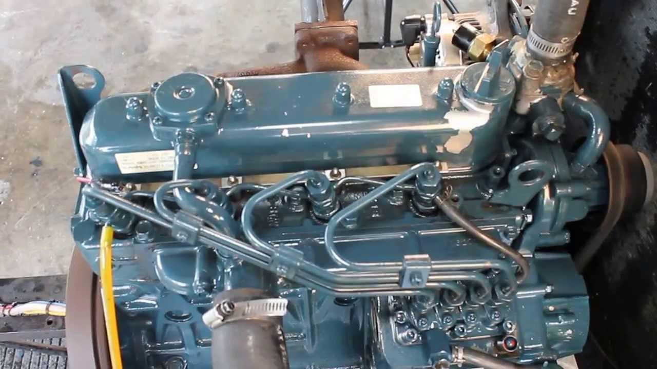 Kubota Vsel Engine 002