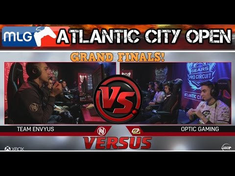 GEARS OF WAR 4 | ATLANTIC CITY | GRAND FINALS | Optic Gaming vs Team Envyus (Epic Finish!)
