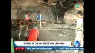 NewsLife: Repairs on Quezon bridge now underway || April 15, 2014