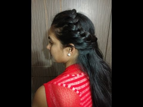 Side French Hair Style Hindi Youtube