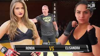 MMA  Womans  Sexy Girls Stephanie Bruna Ronda  vs Elisandra Lili Ferreira Arenna Female MMA 28