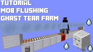 Minecraft: Ghast Tear Farm & Mob Flusher (Ender Sweeper)