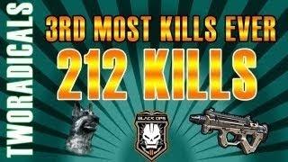 black ops 2 200 kills 212 2 black ops 2 pdw 57 gameplay