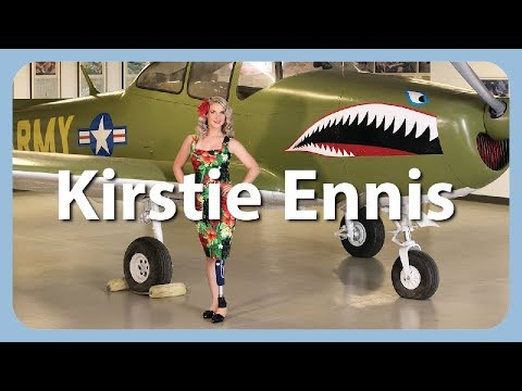 Kirstie Ennis - US Marine Helicopter Gunner, Amputee, Athlete, and Model