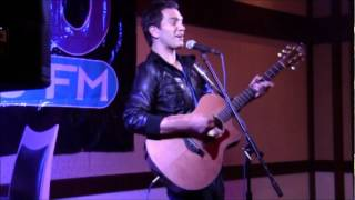 "ANDY GRAMMER - Gavin Degraw cover ""Not Over You"" (104.5 XLO Music Loft)"