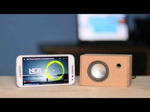 How to Make a Speaker + Powerbank at Home