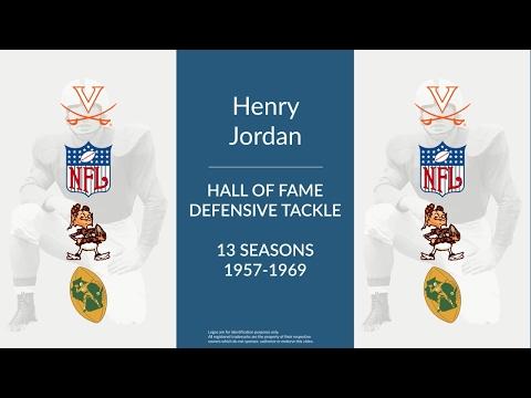 Henry Jordan: Hall of Fame Football Defensive Tackle