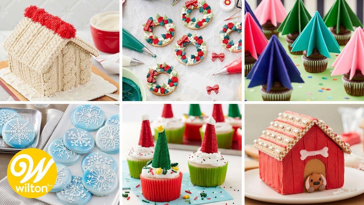 6 Cute Christmas Dessert Ideas Wilton Youtube