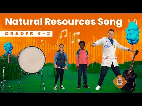 The Natural Resources SONG | Science for Kids | Grades K-2