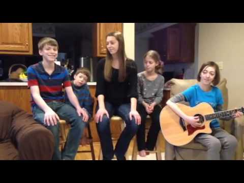 K-Love Fan Awards Songs Of The Year 2014 Mashup By Anthem Lights (cover) - Harwood Family