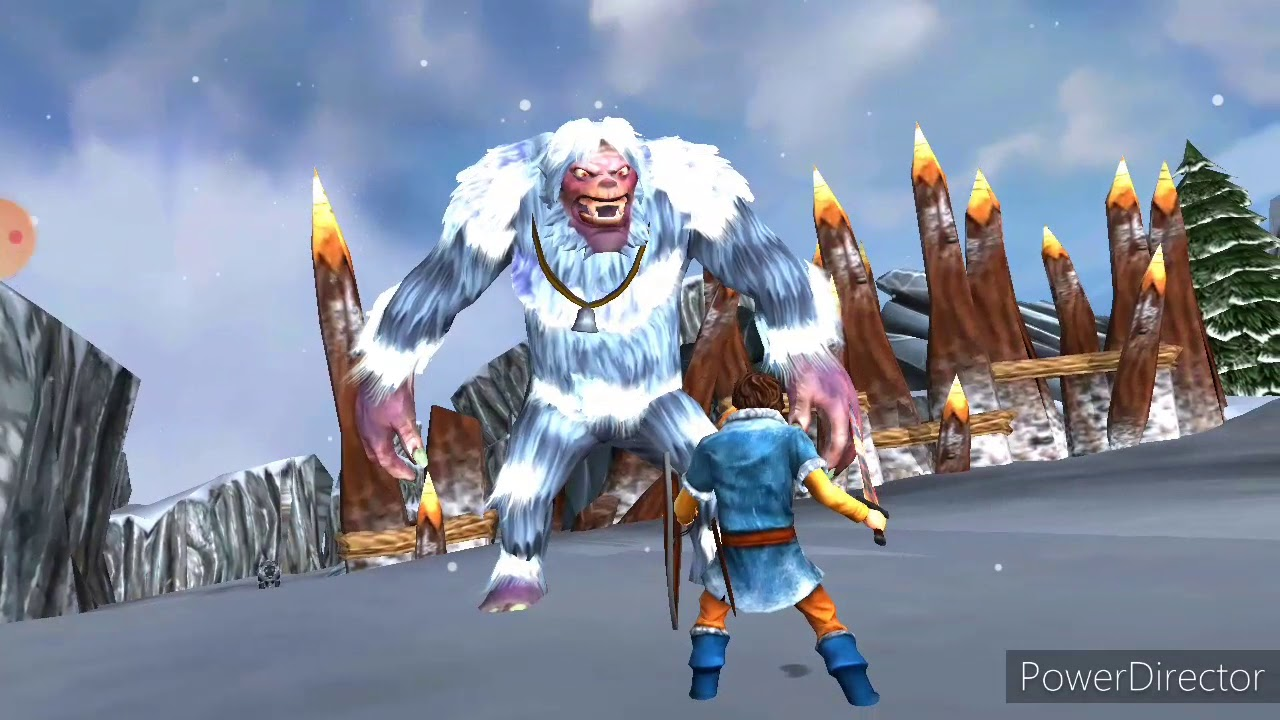 boss fight with nanook  beast quest  ep3  youtube