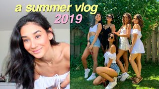 a summer vlog!! pool party, hanging w friends & more