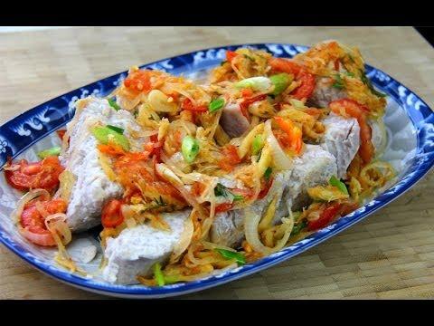 Taro With Stewed Saltfish Caribbean Comfort Food.