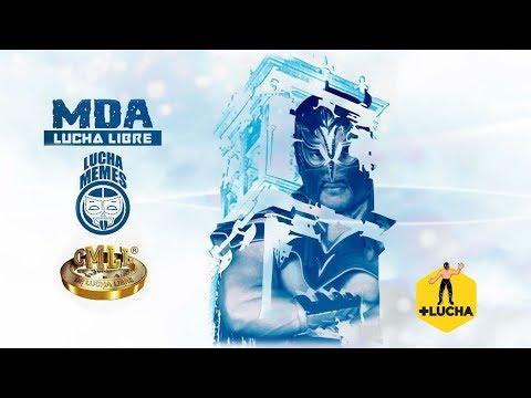 Lucha Memes y MDA desde la Arena Puebla 4/06/2017 (Evento Completo)