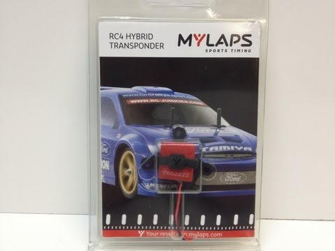 My Laps RC4 Transponder - Unboxing