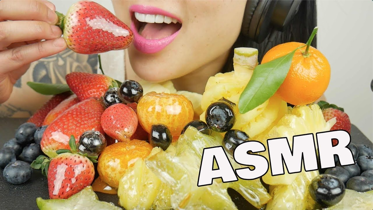 Asmr Candied Tanghulu Fruit Platter Extreme Crackling Eating Sounds No Talking Sas Asmr Youtube Check out this biography to know her birthday, family life, achievements and. youtube