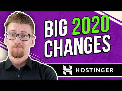 Hostinger Review - New Tech, Easier To Use, NO SUPPORT?? [2020]