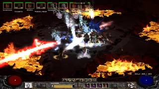 [My Playing Game] [Lv.93/92] Maul Baba and Hydra Sorceress. [Diablo 2 The Lord of Destruction.]
