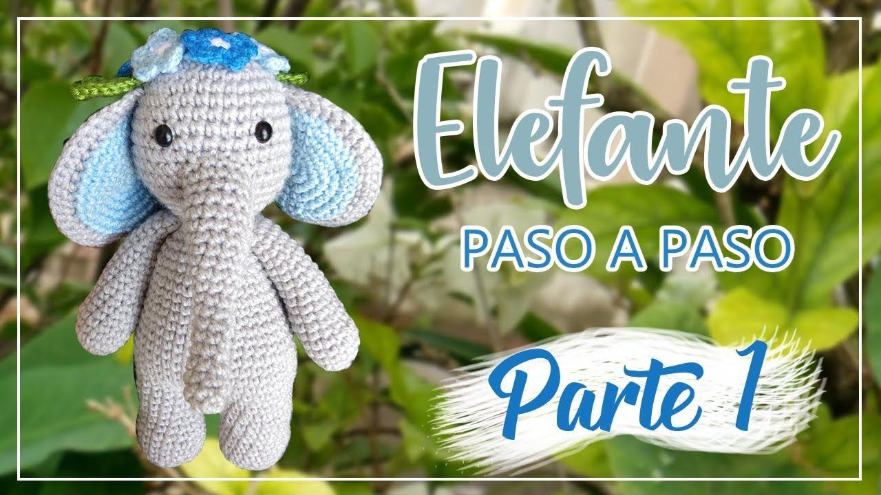 Mi Elefante Hindú | Angelitos a crochet, Elefantes, Patrones amigurumi | 720x1280
