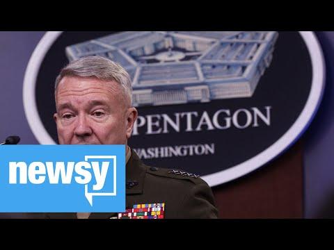 Pentagon released images of raid on ISIS leader