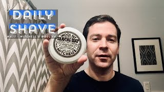 Mitchell's Wool Fat - The Daily Shave