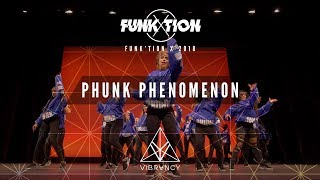 Phunk Phenomenon | Funk'tion X 2018 [@VIBRVNCY Front Row 4K]