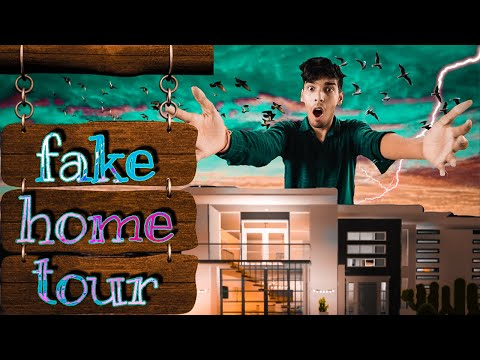 Fake home tour 😂🤣🤣😂😄😁|| chittu vines || chitranshu Mehta || new comedy vines
