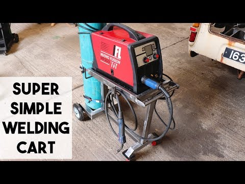 SIMPLE WELDING CART PROJECT.