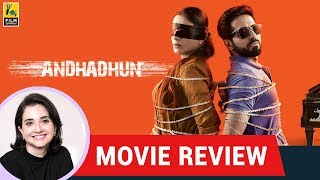 Anupama Chopra's Movie Review of AndhaDhun | Sriram Raghavan | Ayushmann Khurrana | Tabu
