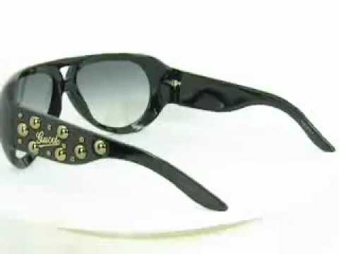 Black Frame Gucci Sunglasses wholesale.mp4