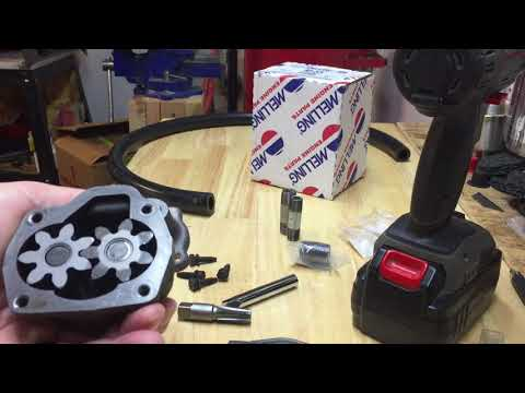 Making a fluid transfer pump out of a SBC Chevy oil pump