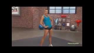 Упражнения для ягодиц и бедер 10 минут Школа Здоровья