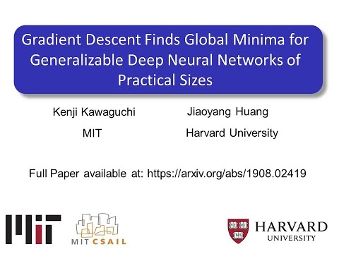 Deep Learning Theory: Gradient Descent Finds Global Minima