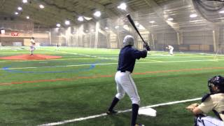 ND Baseball practice Loftus