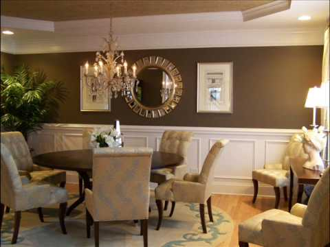 Interior design ideas dining room 4 youtube for Interior design ideas small dining room